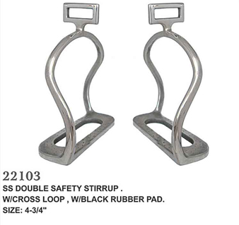 SS DOUBLE SAFETY STIRRUPS