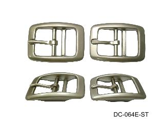 ZINC DIE CAST 2-BAR TONGUE BUCKLE