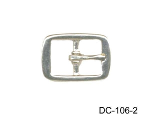 ZINC DIE CAST CENTER  BAR  BUCKLE ,