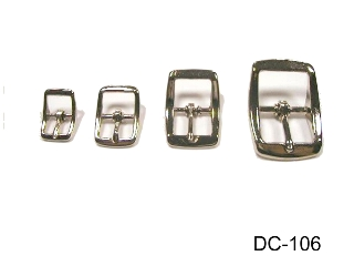 ZINC DIE CAST CENTER BAR BUCKLE