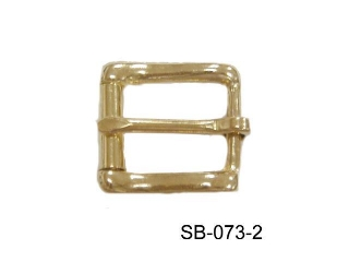 SOLID BRASS ROLLER BUCKLE
