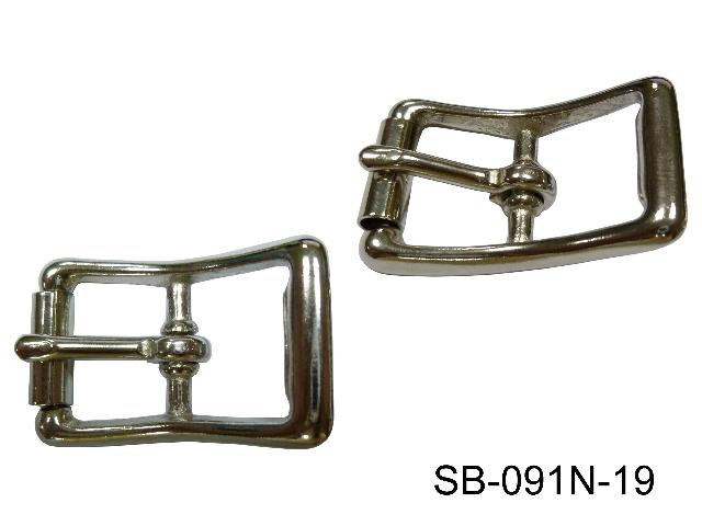 SOLID BRASS BUCKLE, SIZE: 3/4