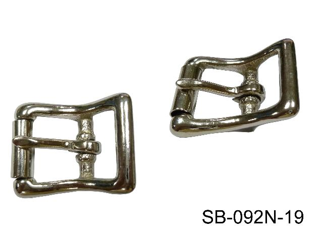 SOLID BRASS BUCKLE, NP