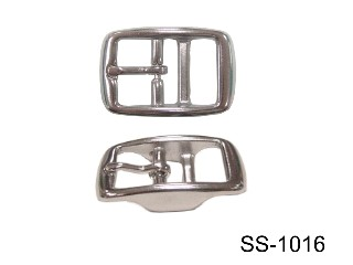 S.S. DOUBLE BAR BUCKLE