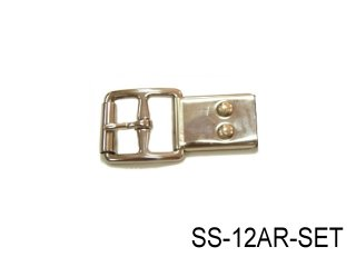 SS STIRRUP LEATHER BUCKLE+S.S. BUCKLE HOLDER