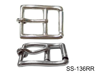 SS DOUBLE-ROLLER GIRTH BUCKLE