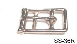 SS 2-BAR GIRTH BUCKLE (LOST-WAX)