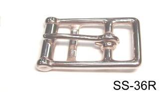 SS 2-BAR GIRTH BUCKLE (LOST-WAX)