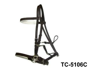 PVC COATED RACING BRIDLE