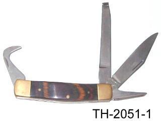 COMBINATION HOOF CARE FOLDING KNIFE