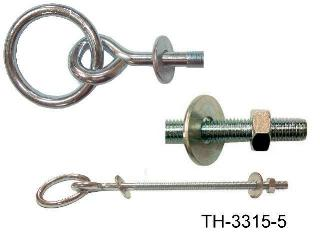 HITCHING RING,Z.P. BOLT STYLE