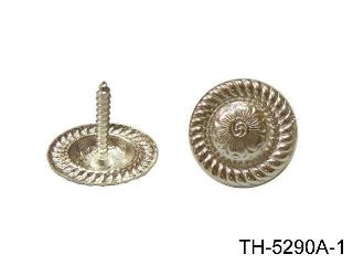 BRASS CONCHO W/ SCREW