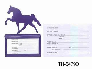 STABLE NAME CARD HOLDER