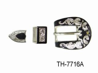 ZINC DIE CAST BELT BUCKLE(SET OF 3)