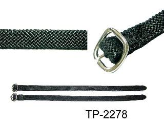 NYLON BRAIDED SPUR STRAP W/BURNT