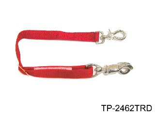 ADJUSTABLE TRAILER TIE, RED
