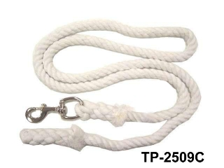 3 TONE COTTON ROPE LEAD