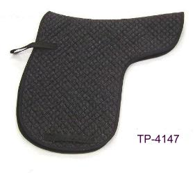 SHAPED DRESSAGE SADDLE PAD