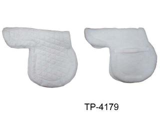 A.P. SHAPED STYLE FLEECE SADDLE PAD
