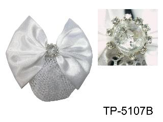 HAIR BOW W/NET FOR  RIDER