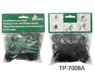 PLASTIC BRAID AID & 250 RUBBER