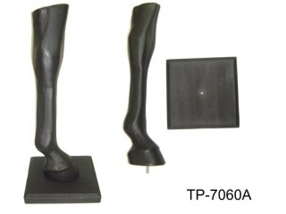 PLASTIC HORSE LEG DISPLAY STAND