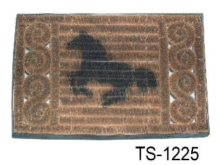 PALM IRON DOORMAT