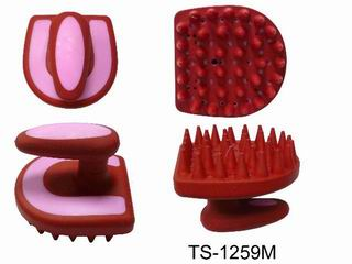 HORSE SHOE DESIGN MASSAGE BRUSH
