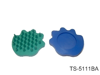 RUBBER SOFT-TOUCH CURRY COMB