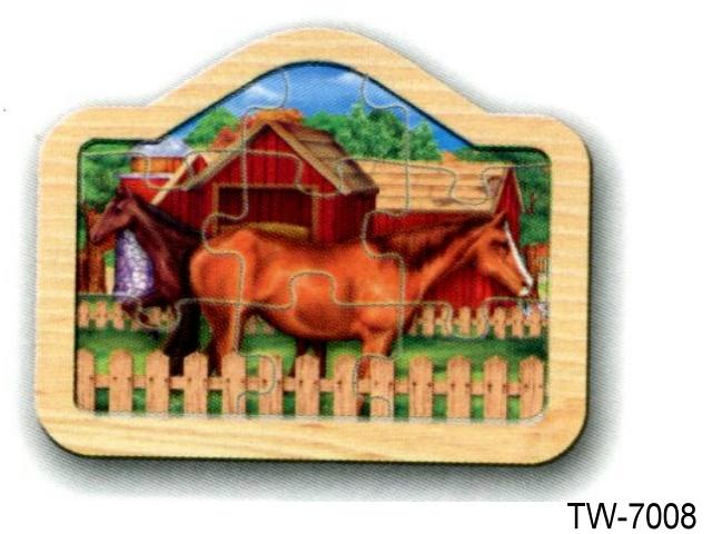 RAIS UP PUZZLE HORSE