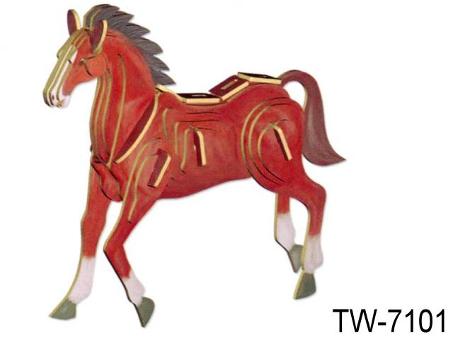 3D SHAPE - HORSE