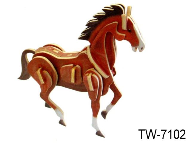 3D SHAPE - MINI HORSE