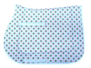 ARGYLE  SADDLE PAD