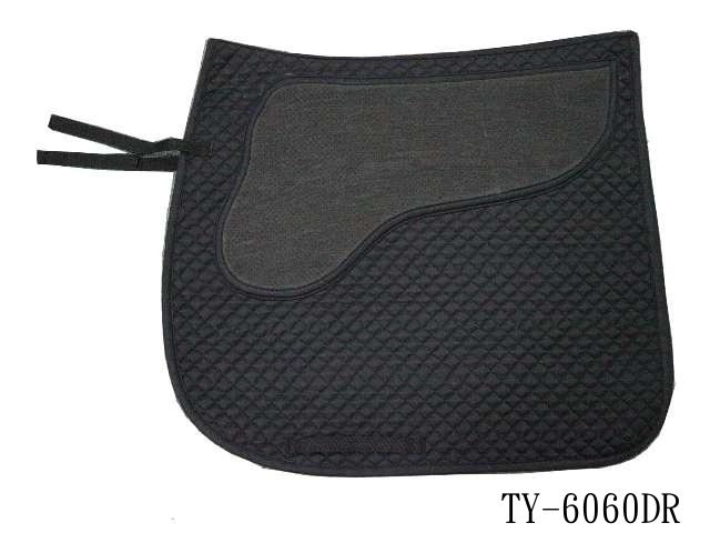 COTTON DRESSAGE SADDLE PAD