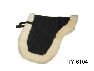 SHEEPSKIN SADDLE PAD