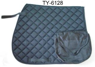 FULL SIZE  COTTON SADDLE PAD W/2 POCKETS