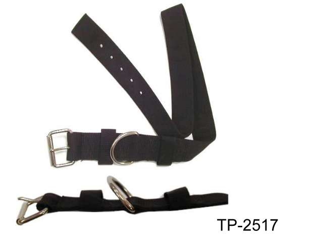 P.P. BLACK NECK BELT