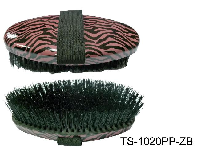SMALL BODY BRUSH ZEBRA PRINT