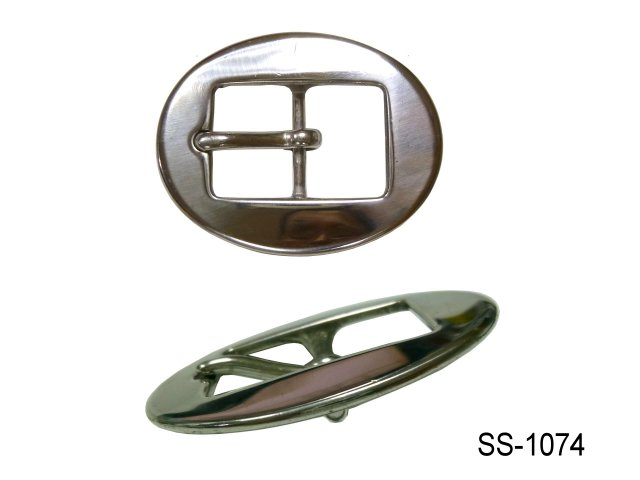 SS CENTER BAR CART BUCKLE