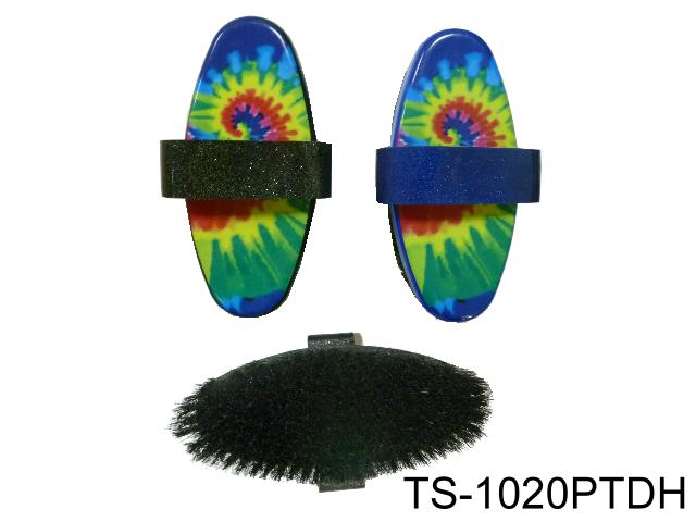 SMALL BODY BRUSH TIE DYE PRINT