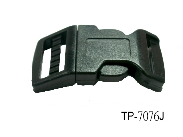 PLASTIC SIDE RELEASE BUCKLE(BENDED)