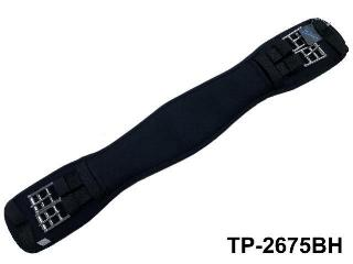 COOLMAX TPR SHAPED DRESSAGE GIRTH