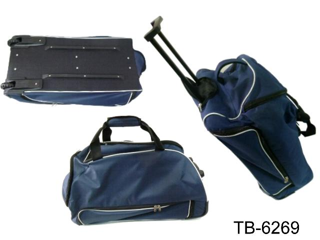 SADDLE TROLLEY BAG